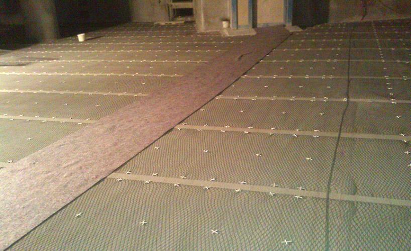 Ti/MMO-Anodengitter für Deckenflächen einer Tiefgarage